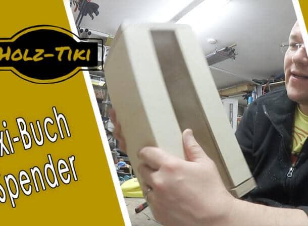 Pixi Buch Spender schnell in der Werkstatt gebaut
